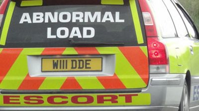 Transporting abnormal loads by road